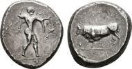 AR-Stater (480-400 v.Chr.) LUCANIA POSEIDONIA. Sehr schön.  650,00 EUR kostenloser Versand