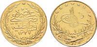 100 Piaster AH 1327 - Jahr 4, (1911)  TÜRKEI Mohammed V., 1909-1918. Kl... 550,00 EUR kostenloser Versand