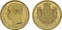 10 Kronen 1909, Kopenhagen. DÄNEMARK Frederik VIII., 1906-1912. Vorzügl... 230,00 EUR  zzgl. 4,50 EUR Versand