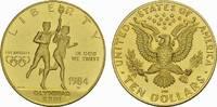 10 Dollar 1984. USA  Polierte Platte.  692,79 EUR kostenloser Versand