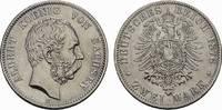 2 Mark 1876, E. Sachsen Albert, 1873-1902....