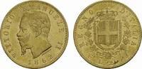 20 Lire 1862, Turin. ITALIEN Victor Emanuel II., 1859-1861-1878. Vorzüg... 289,00 EUR  zzgl. 4,50 EUR Versand