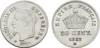 20 Centimes 1867, BB - Straßburg. FRANKREICH Napoléon III, 1852-1870. L... 85,00 EUR  zzgl. 4,50 EUR Versand