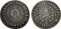 2 Soles 1826, RA - Rioja (ohne P) ARGENTINIEN Provinzen des Rio de la P... 125,00 EUR  zzgl. 4,50 EUR Versand
