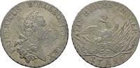 Taler 1786 A. BRANDENBURG-PREUSSEN Friedrich II., der Große, 1740-1786.... 1650,00 EUR kostenloser Versand