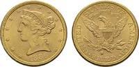 5 Dollar 1886 San Francisco. USA  Vs. Minim. Kratzer sonst Vorzüglich-s... 489,00 EUR440,10 EUR  zzgl. 4,50 EUR Versand