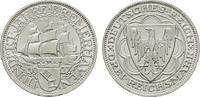3 Reichsmark 1927, A. WEIMARER REPUBLIK  Stempelglanz, fein  325,00 EUR  zzgl. 4,50 EUR Versand