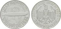 3 Reichsmark 1930, A. WEIMARER REPUBLIK  Hübsche Patina. Fast Stempelgl... 110,00 EUR  zzgl. 4,50 EUR Versand