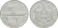 5 Reichsmark 1930, A. WEIMARER REPUBLIK  Stempelglanz, fein  285,00 EUR  zzgl. 4,50 EUR Versand