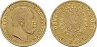 20 Mark 1877 A. Preussen Wilhelm I., 1861-1888. Sehr schön +.  285,00 EUR  zzgl. 4,50 EUR Versand