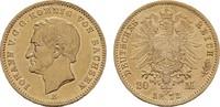 20 Mark 1872 E. Sachsen Johann, 1854-1873. Vorzüglich.  495,00 EUR  zzgl. 4,50 EUR Versand