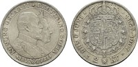 2 Kronen 1907. SCHWEDEN Oskar II., 1872-1907. Leichte Patina. Stempelgl... 25,00 EUR  zzgl. 4,50 EUR Versand