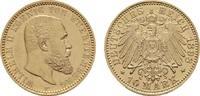 10 Mark 1898 F Württemberg Wilhelm II., 1891-1918. Fast Stempelglanz/St... 480,00 EUR  zzgl. 4,50 EUR Versand
