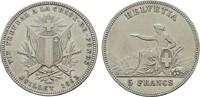 5 Franken 1863. SCHWEIZ  Sehr schön +  190,00 EUR  zzgl. 4,50 EUR Versand