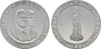 2.000 Pesetas 1992. SPANIEN Juan Carlos I., 1975-2014. Polierte Platte  27,00 EUR  zzgl. 4,50 EUR Versand