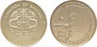 5 Sertrum 1993. BHUTAN Jigme Singye Wangchuck, 1972-2016. Polierte Plat... 185,00 EUR  zzgl. 4,50 EUR Versand