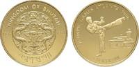 5 Sertrum 1994. BHUTAN Jigme Singye Wangchuck, 1972-2016. Polierte Plat... 180,00 EUR  zzgl. 4,50 EUR Versand