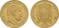 20 Mark 1871 A. Preussen Wilhelm I., 1861-1888. Rs. Kl. Fehler im Rands... 1450,00 EUR kostenloser Versand