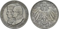 2 Mark 1909. Sachsen Friedrich August III., 1904-1918. Fast Stempelglanz  68,00 EUR  plus 7,00 EUR verzending