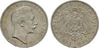 3 Mark 1908. Preussen Wilhelm II., 1888-1918. Sehr schön +  15,00 EUR  zzgl. 4,50 EUR Versand