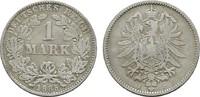 1 Mark 1885, J. Deutsches Reich  Fast Sehr schön  8,00 EUR  zzgl. 4,50 EUR Versand