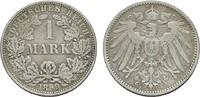 1 Mark 1899, A. Deutsches Reich  Sehr schön  5,00 EUR  zzgl. 4,50 EUR Versand