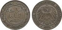 1 Pesa 1891. DEUTSCHE KOLONIEN  Fast Stempelglanz  60,00 EUR  zzgl. 4,50 EUR Versand