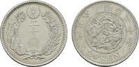 20 Sen Meiji 20 (1887). Osaka. JAPAN Mutsuhito, 1867-1912. Vorzüglich  30,00 EUR  zzgl. 4,50 EUR Versand