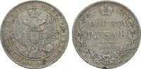 Rubel 1846. RUSSLAND Nikolaus I., 1825-1855. Prüfspur am Randstab. Sehr... 60,00 EUR  zzgl. 4,50 EUR Versand