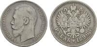 Rubel 1896, St. Petersburg. RUSSLAND Nikolaus II., 1894-1917. Sehr schön  49,00 EUR  zzgl. 4,50 EUR Versand