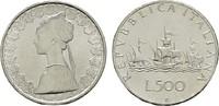 500 Lire 1969. ITALIEN  Stempelglanz  28,00 EUR  zzgl. 4,50 EUR Versand