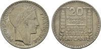 20 Francs 1938. FRANKREICH 3. Republik, 1870-1940. Sehr schön +  13,00 EUR  zzgl. 4,50 EUR Versand