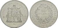 50 Francs 1978. FRANKREICH 5. Republik, seit 1958. Stempelglanz  29,00 EUR  zzgl. 4,50 EUR Versand