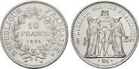 10 Francs 1965. FRANKREICH 5. Republik, seit 1958. Stempelglanz  25,00 EUR  zzgl. 4,50 EUR Versand