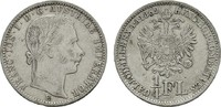 1/4 Gulden 1862, E. KAISERREICH ÖSTERREICH Franz Josef I., 1848-1916. S... 38,00 EUR  zzgl. 4,50 EUR Versand