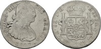 8 Reales 1807 Th - Mexico City. MEXIKO Carlos IV., 1788-1808. Sehr schön  55,00 EUR  zzgl. 4,50 EUR Versand