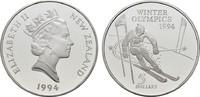 5 Dollars 1994. NEUSEELAND Elisabeth II. seit 1952 Polierte Platte, gek... 20,00 EUR  zzgl. 4,50 EUR Versand