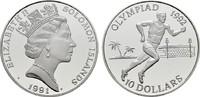 10 Dollars 1991. SALOMON ISLANDS Elisabeth II. seit 1952. Polierte Plat... 20,00 EUR  zzgl. 4,50 EUR Versand