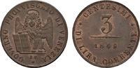Ku.-3 Centesimi 1849 Venedig ITALIEN Provisorische Regierung, 1848-1849... 120,00 EUR  zzgl. 4,50 EUR Versand