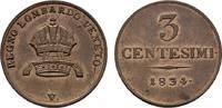 Ku.-3 Centesimi 1834 V - Venedig, für Lombardei-Venetien. KAISERREICH Ö... 80,00 EUR  zzgl. 4,50 EUR Versand