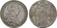 Taler 1775 A - (ICFA - Wien) RÖMISCH-DEUTSCHES REICH Josef II., 1765-17... 950,00 EUR kostenloser Versand