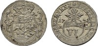 6 Pfennig 1735 AB SACHSEN Wilhelm Heinrich, 1729-1741. Umschrift im unt... 170,00 EUR  zzgl. 4,50 EUR Versand