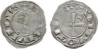 AR-Denier  ANTIOCHIA Bohemund III., 1149-1163. Umschrift teils schwach.... 80,00 EUR  zzgl. 4,50 EUR Versand