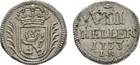 8 Heller 1733 LR HESSEN Friedrich I., 1730-1751. Vorzüglich-stempelglanz  120,00 EUR  zzgl. 4,50 EUR Versand