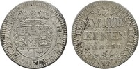 1/8 Taler 1703 HESSEN Karl, 1670-1730. Fast vorzüglich  155,00 EUR  zzgl. 4,50 EUR Versand