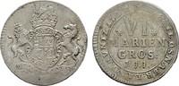 6 Mariengroschen (1/6 Taler) 1722, JJJ-Osnabrück. OSNABRÜCK Ernst Augus... 145,00 EUR  zzgl. 4,50 EUR Versand