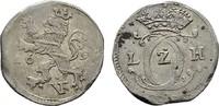 Albus 1696 IVF HESSEN Karl, 1670-1730. Kleines Zainende. Fast Vorzüglic... 30,00 EUR  zzgl. 4,50 EUR Versand