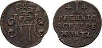 Pfennig 1731 SACHSEN Wilhelm Heinrich, 1729-1741. Sehr schön +  35,00 EUR  zzgl. 4,50 EUR Versand