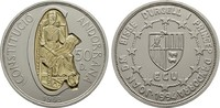 50 Diniers 1993. ANDORRA Parlamentarische Monarchie. Stempelglanz  220,00 EUR  zzgl. 4,50 EUR Versand