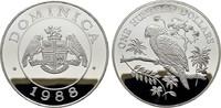 100 Dollars 1988. DOMINIKA  Polierte Platte  130,00 EUR  zzgl. 4,50 EUR Versand